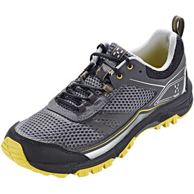 Haglöfs W's Gram Trail Shoes Magnetite/Frozen Yellow